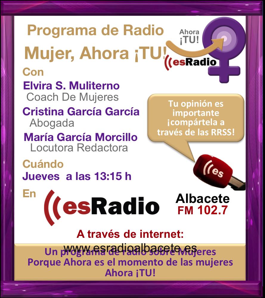 Ahora TU Programa Radio Elvira S Muliterno Nov 14